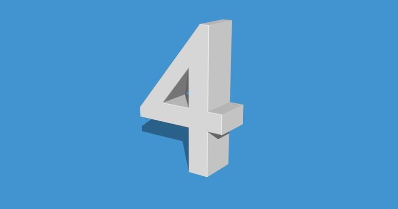 Die Bedeutung der Zahl 4: Numerologie und Zahlenmystik