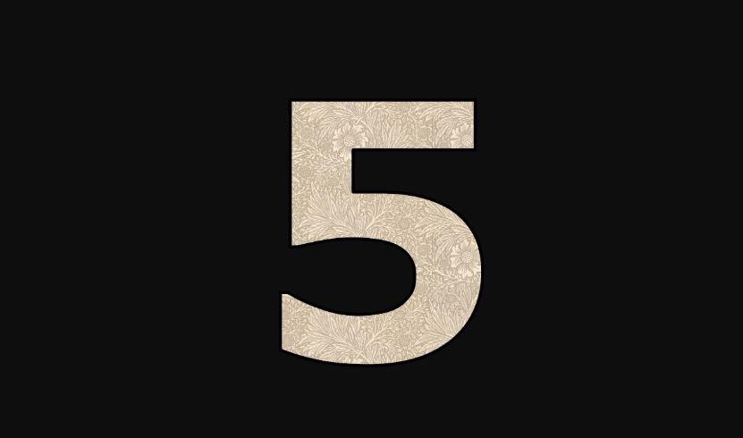 Die Bedeutung der Zahl 5: Numerologie und Zahlenmystik