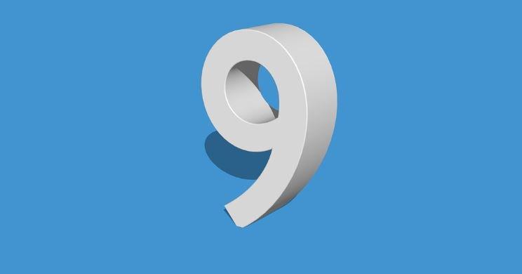 Die Bedeutung der Zahl 9: Numerologie und Zahlenmystik