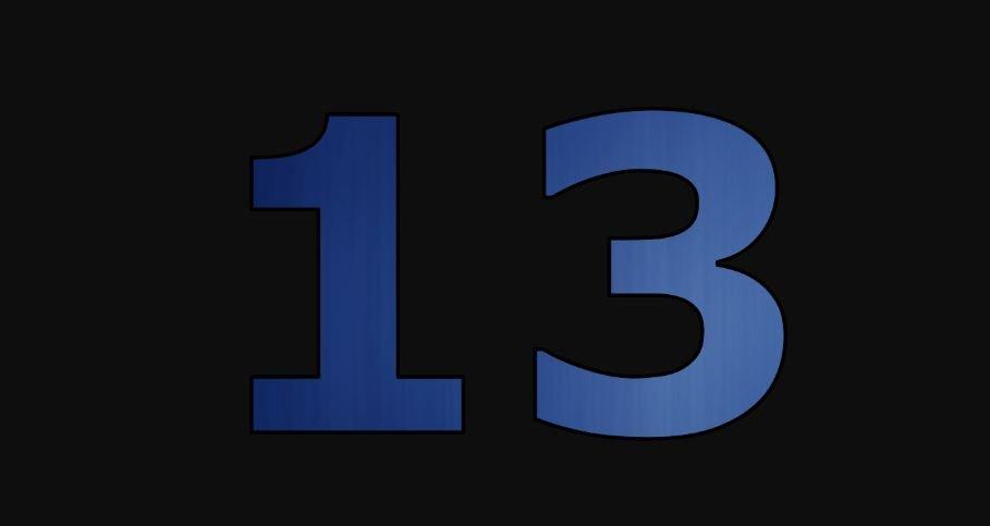 Die Bedeutung der Zahl 13: Numerologie und Zahlenmystik