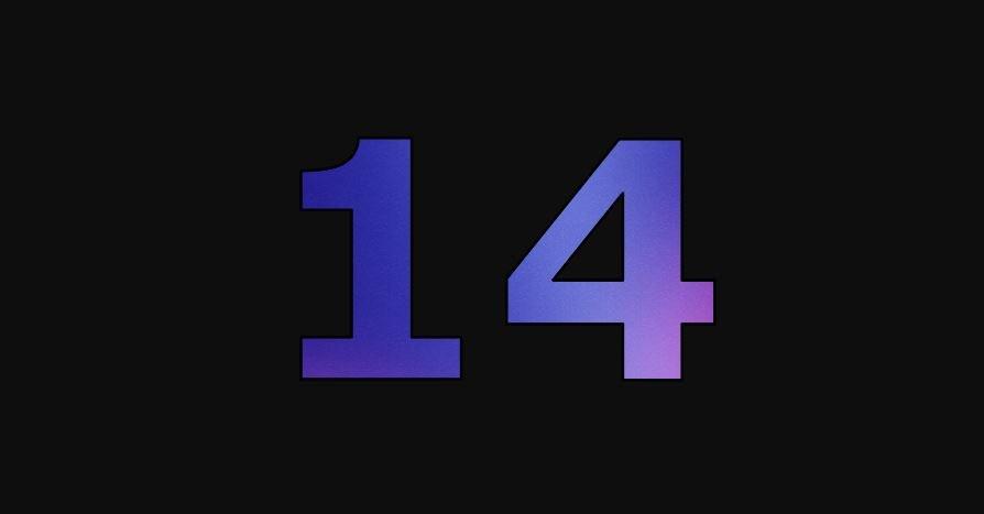 Die Bedeutung der Zahl 14: Numerologie und Zahlenmystik