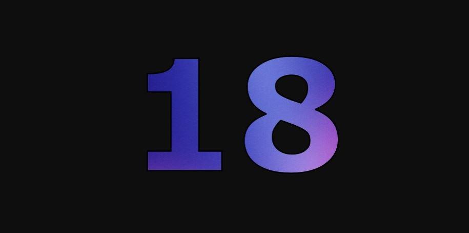 Die Bedeutung der Zahl 18: Numerologie und Zahlenmystik
