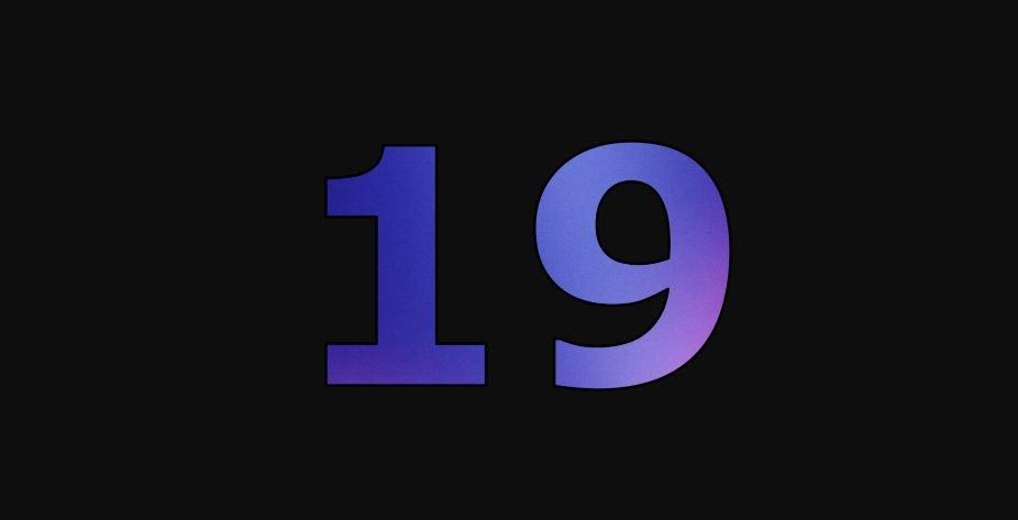 Zahl 19