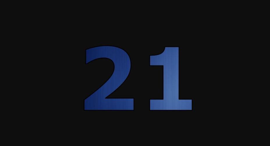 Die Bedeutung der Zahl 21: Numerologie und Zahlenmystik