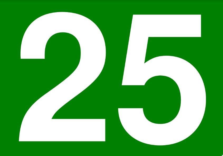 Die Bedeutung der Zahl 25: Numerologie und Zahlenmystik