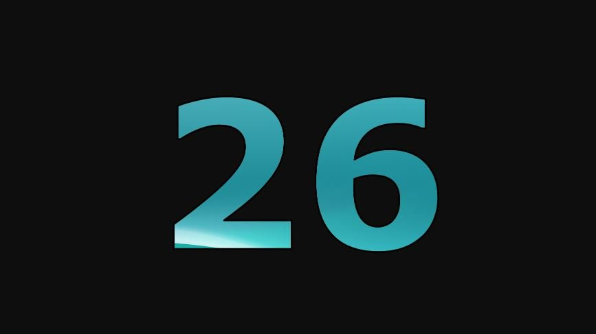 Die Bedeutung der Zahl 26: Numerologie und Zahlenmystik