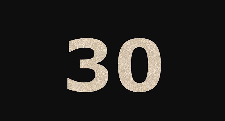 Die Bedeutung der Zahl 30: Numerologie und Zahlenmystik