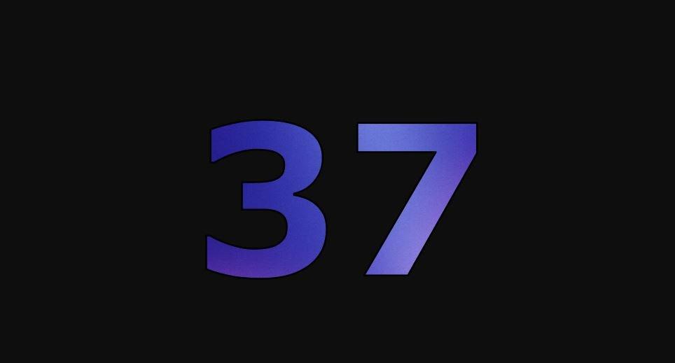 Die Bedeutung der Zahl 37: Numerologie und Zahlenmystik