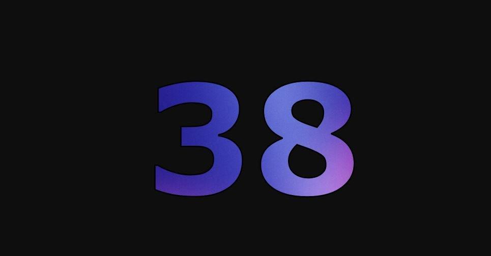 Zahl 38