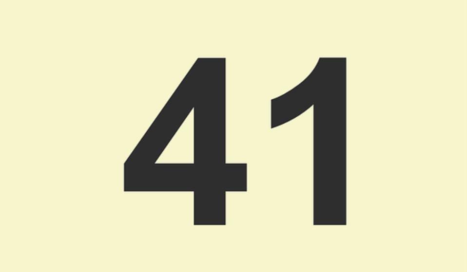 Zahl 41