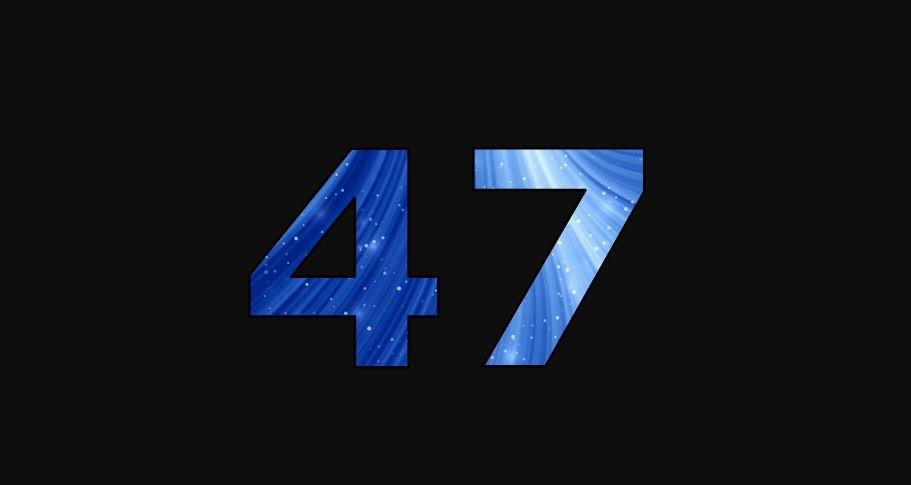 Zahl 47