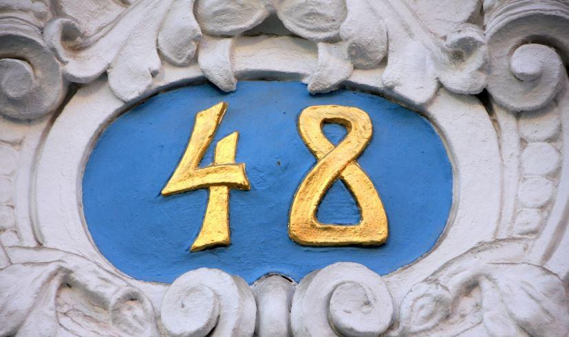 Zahl 48