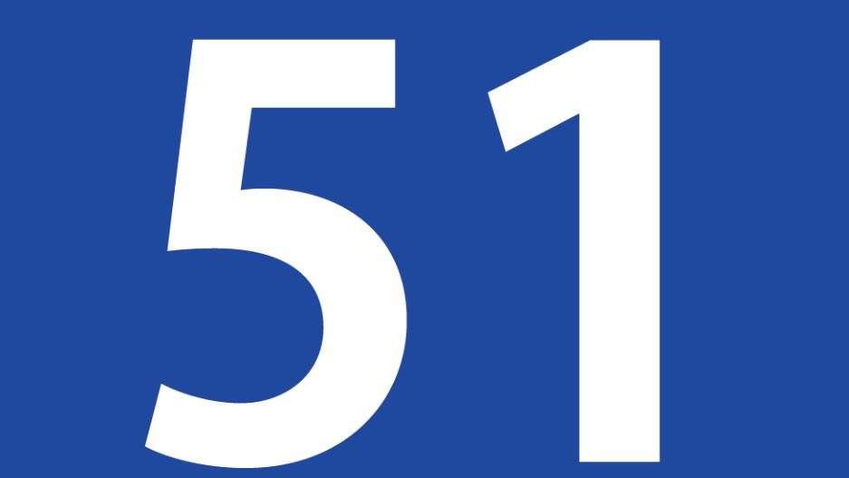 Zahl 51