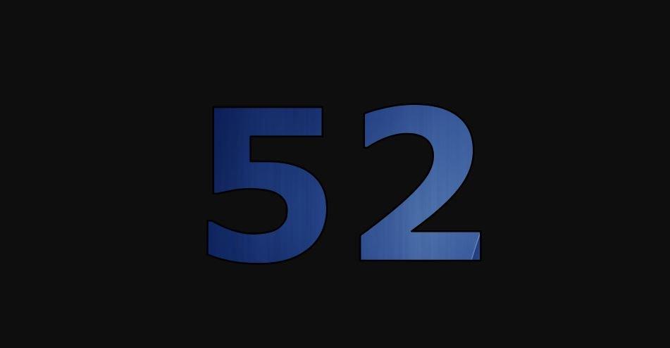 Zahl 52