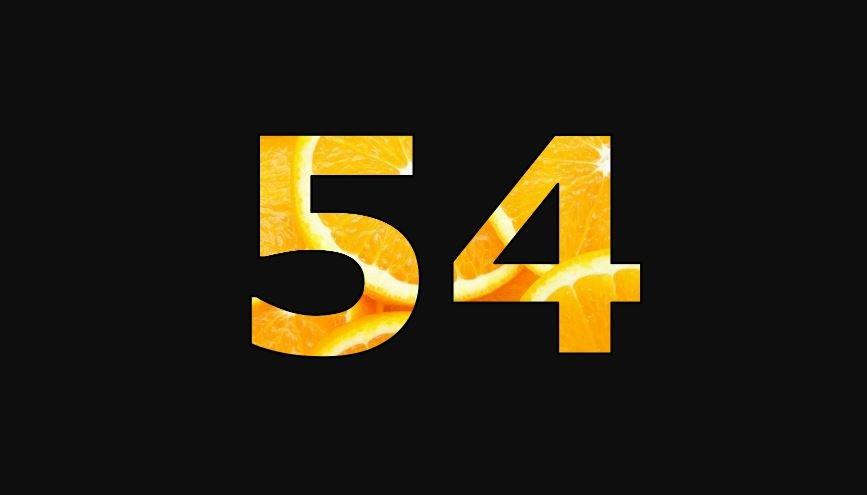 Zahl 54
