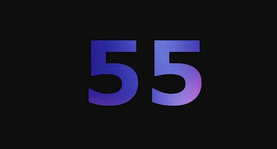 Zahl 55