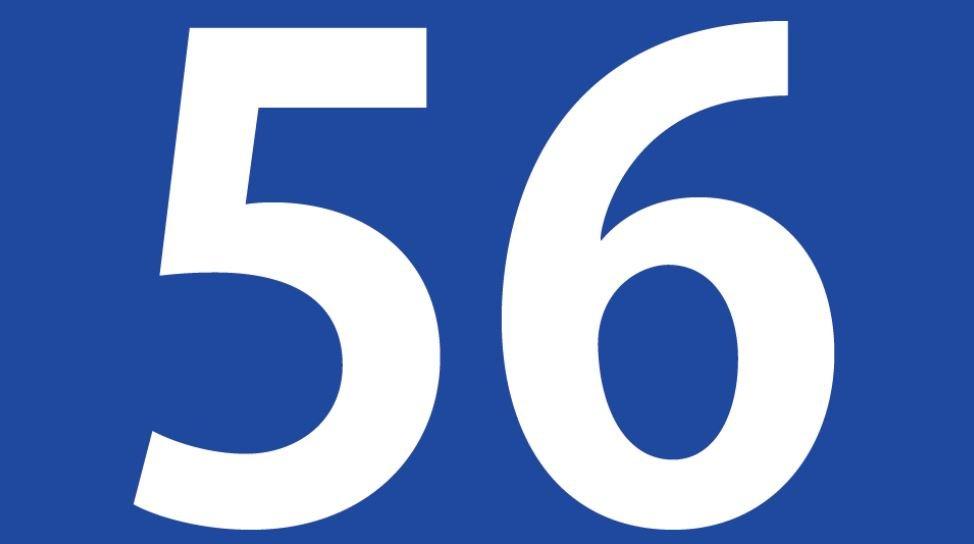 Zahl 56