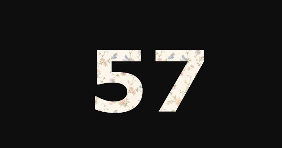 Zahl 57