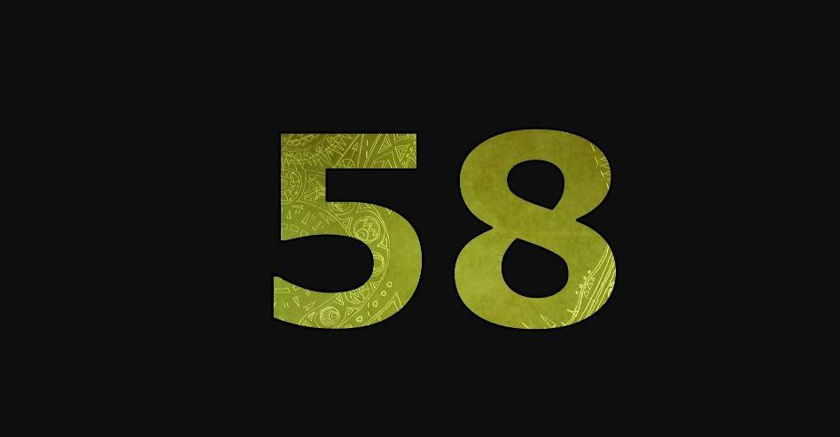 Zahl 58