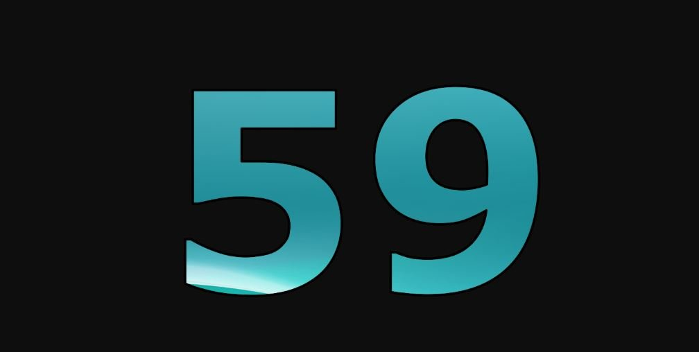 Zahl 59