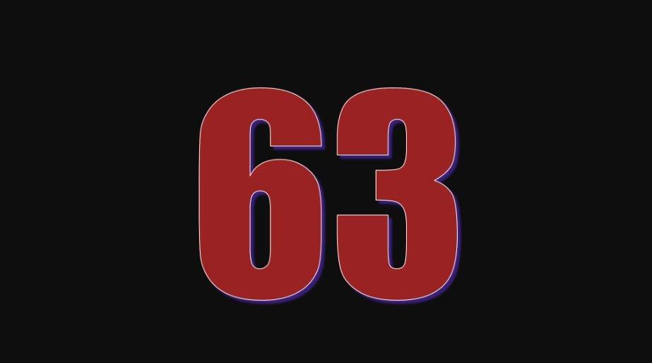 Zahl 63