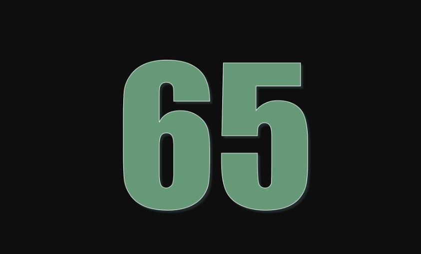 Zahl 65