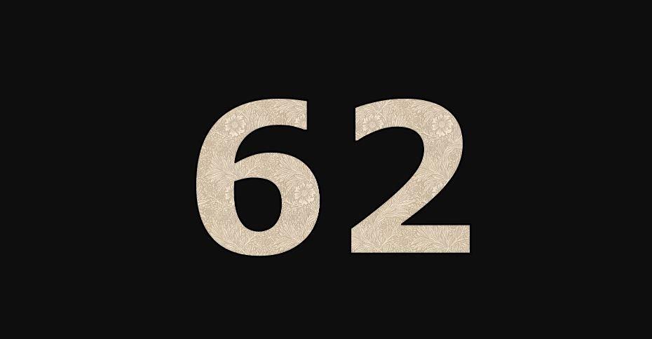 Zahl 62