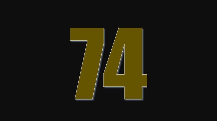 Zahl 74