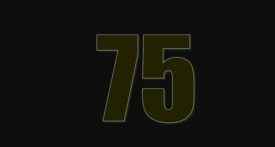 Zahl 75