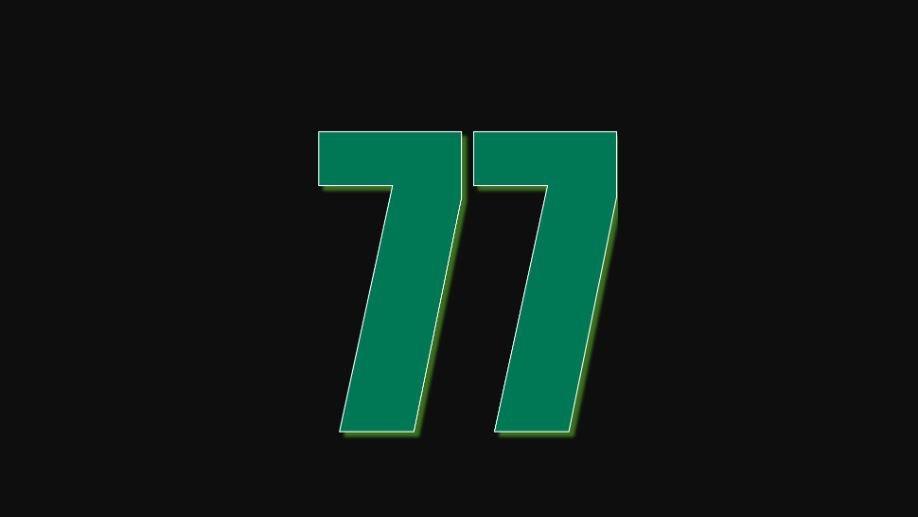 Zahl 77