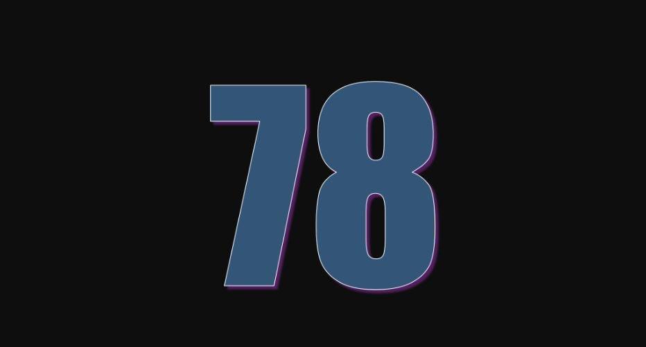 Zahl 78