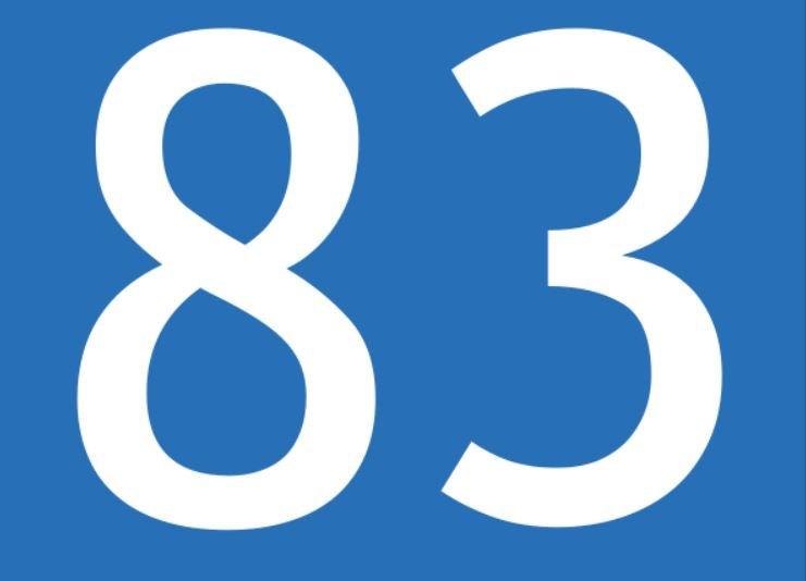 Zahl 83