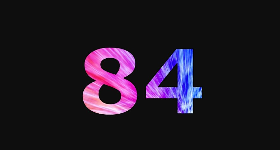 Zahl 84
