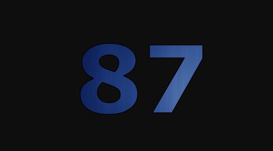 Zahl 87