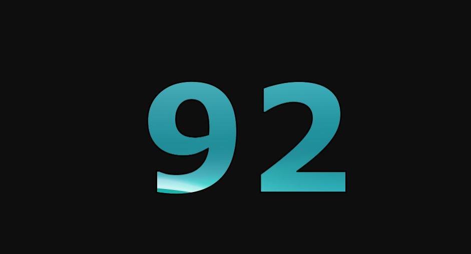 Zahl 92
