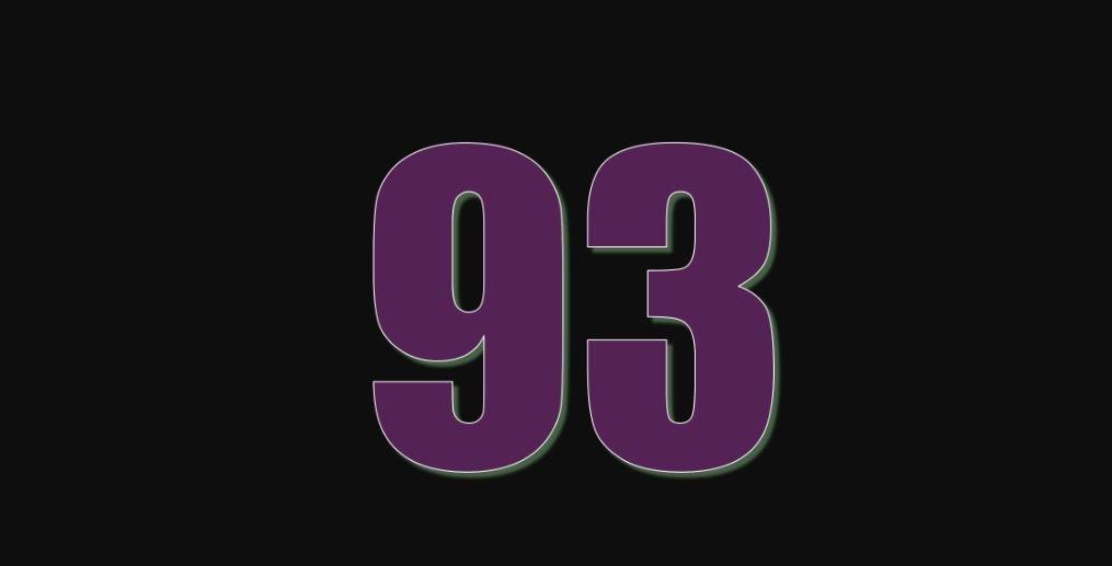 Zahl 93