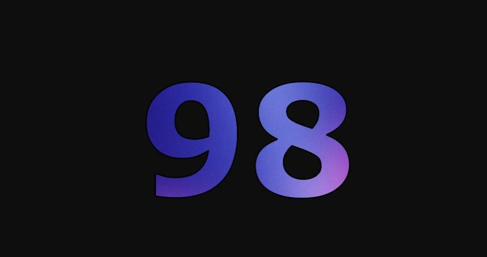 Zahl 98
