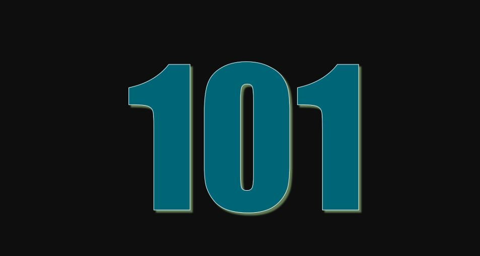 Zahl 101