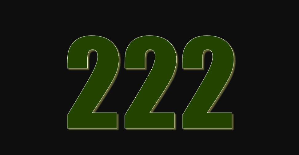 Zahl 222