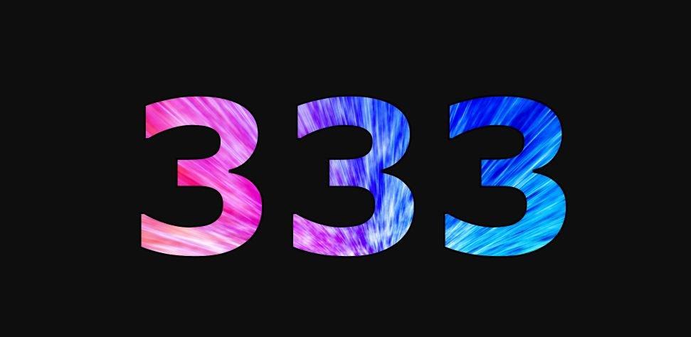 Zahl 333