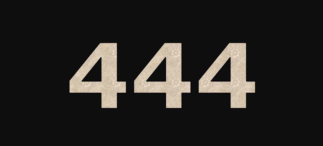 Zahl 444