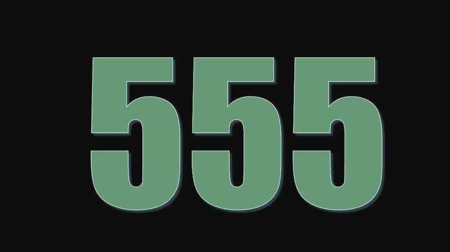 Zahl 555