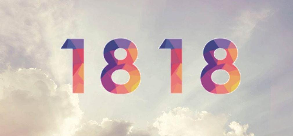 Zahl 1818