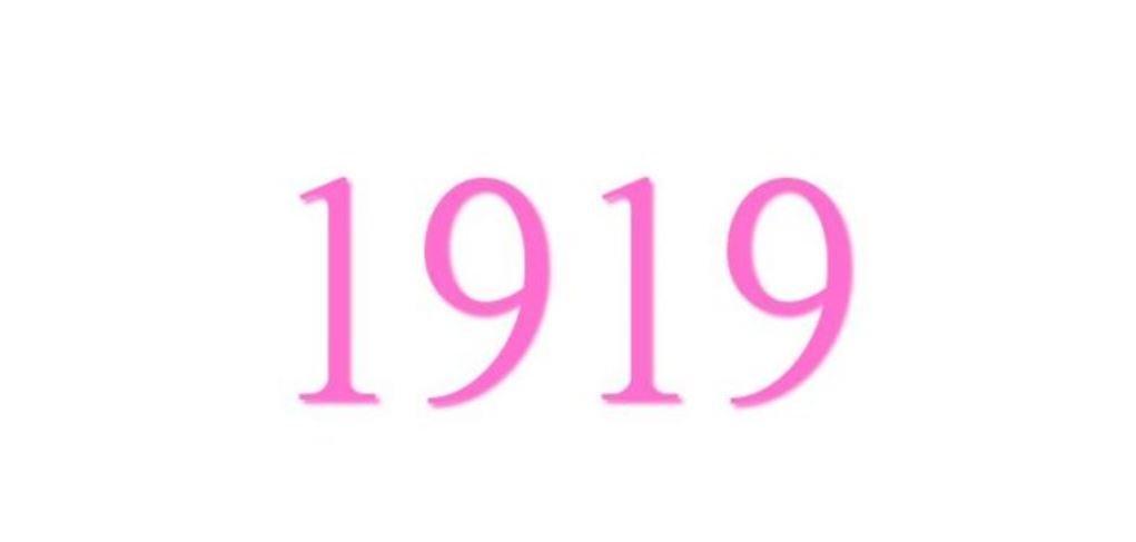 Zahl 1919
