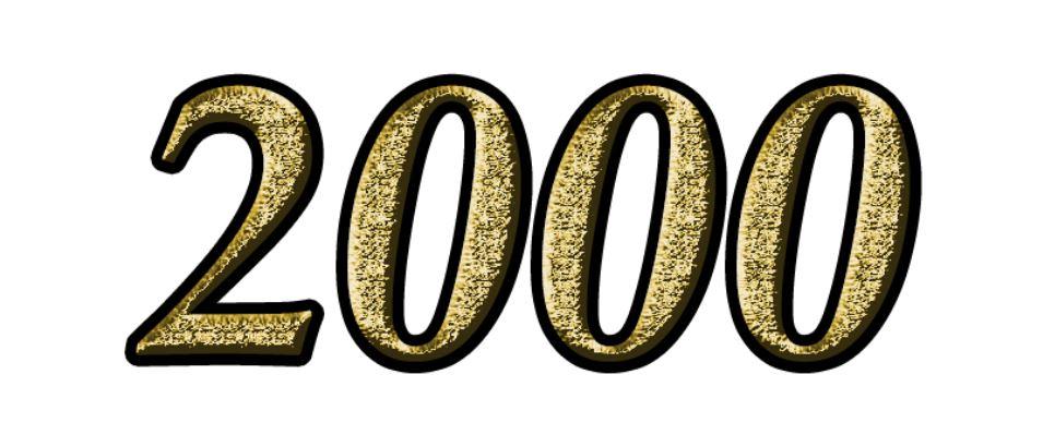 Die Bedeutung der Zahl 2000: Numerologie und Zahlenmystik