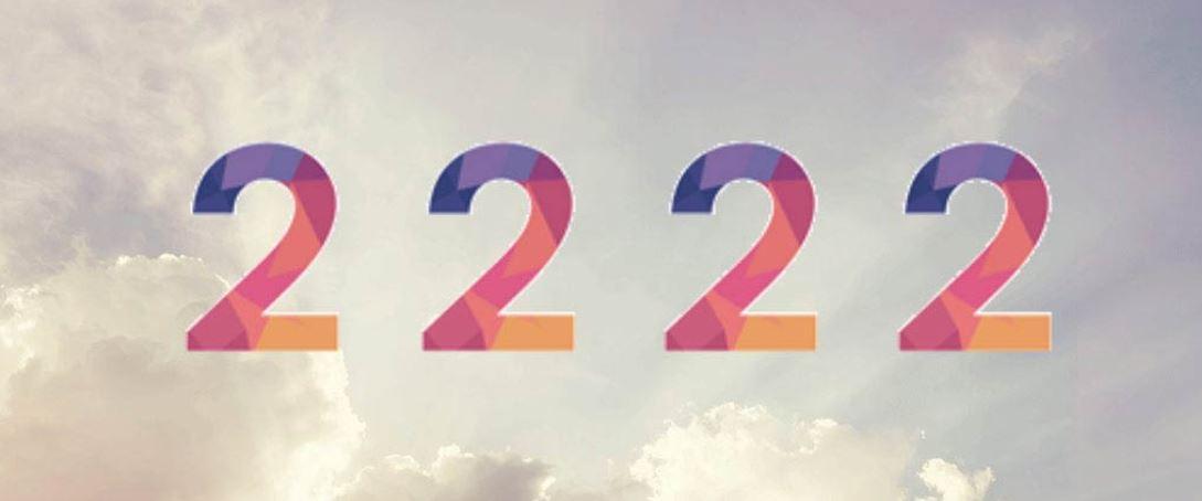 Zahl 2222
