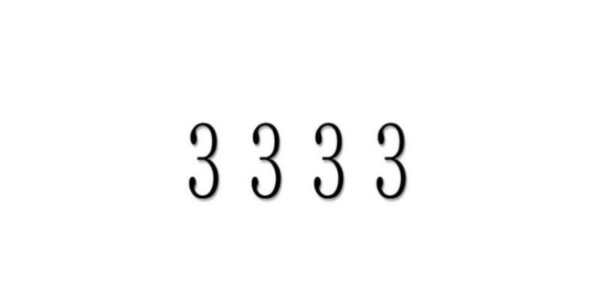 Die Bedeutung der Zahl 3333: Numerologie und Zahlenmystik