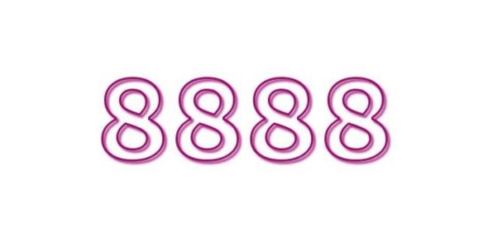 Zahl 8888