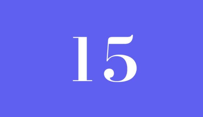 Engelszahl 15: Symbole und ihre Bedeutung