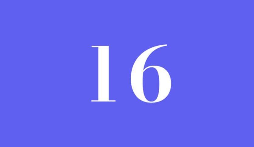 Engelszahl 16: Symbole und ihre Bedeutung